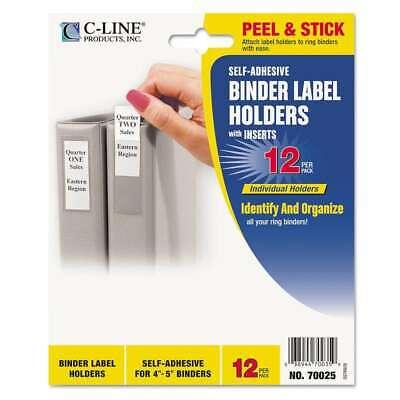 C-line Self-adhesive Ring Binder Label Holders Top Load 1-34 038944700250