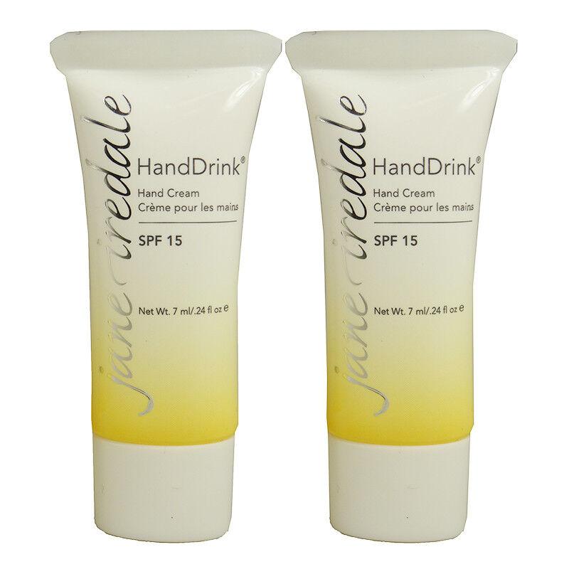 Jane Iredale HandDrink Hand Cream SPF15 Travel Set
