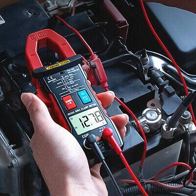 St203 Digital Multimeter Amper Clamp Meter Voltage Tester Current Safety Red