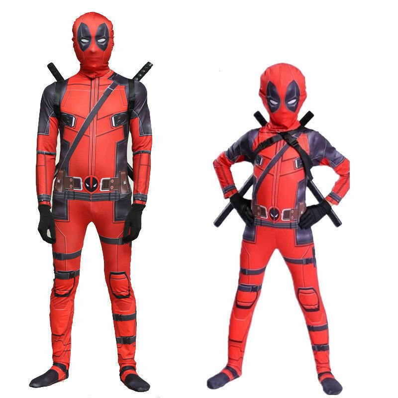 Deadpool Muscle Chest Adult Costume Top