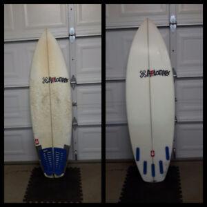 Aftanas raddysh surfboard 5'8