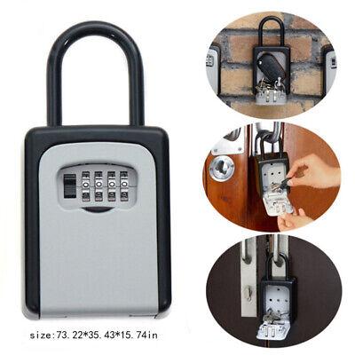 4-digit Key Lock Box Lockbox For Realtor Real Estate Safe Storage Hook Organizer