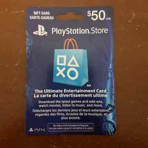 Trading 50$ PSN cards for Xbox cards Prince George British Columbia image 2