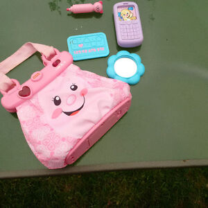 Fisher Price Pink Purse