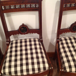 Four Antique chairs Kitchener / Waterloo Kitchener Area image 2