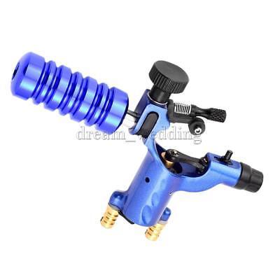 Pro Dragonfly Body Art Rotary Tattoo Maschine für Liner Shader + Stem Blue (Dragonfly Rotary Maschine)