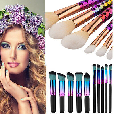 High Quality 6/8/10pcs Makeup Brush Set Powder Blush Eyeshadow Make Up Brushes