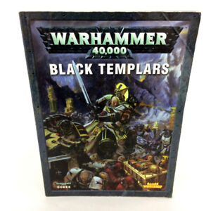 Warhammer 40K Black Templars Codex Book 4th 5th Games Workshop