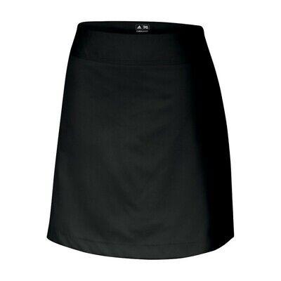 Adidas Golf Röcke (Adidas ClimaCool 3-Stripes Women Golf Skort - Black - size 6)