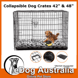 "Extra Large Collapsible Dog Crate 42"" or 48"" dog house"