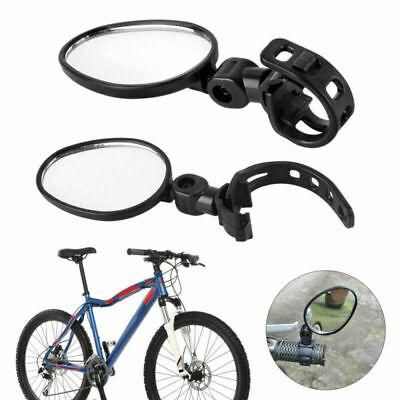 2 Unidad Bicicleta Espejo Trasero Ebike Manillar Eléctrica Set Izquierda Derecho