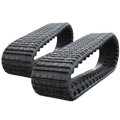 Pair Of Prowler Asv Rc60 Multi-bar Tread Rubber Tracks - 381x101.6x42 - 15