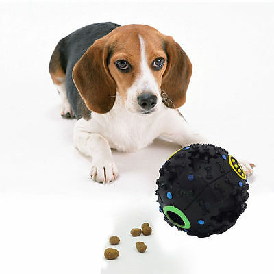 Smart Dog Tricky Treats Ball Interactive Food Dispensing IQ ()
