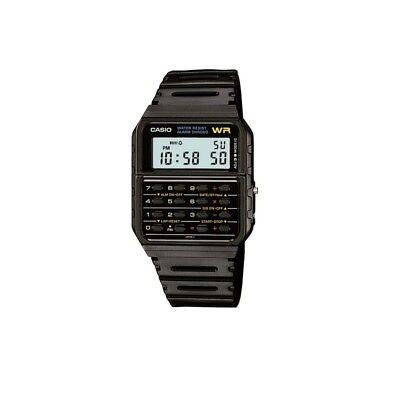 CASIO CA-53W-1Z Taschenrechner,Calculator,Uhr,schwarz retro vintage NEU