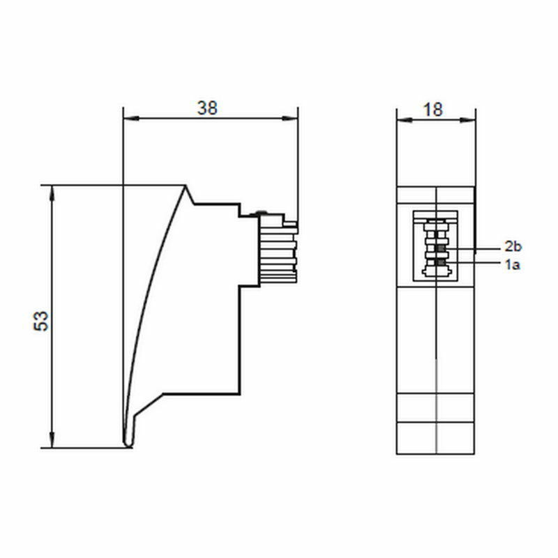 FRITZ BOX, ROUTER/MODEM Adapter; TAE F Stecker auf RJ45 Buchse ...