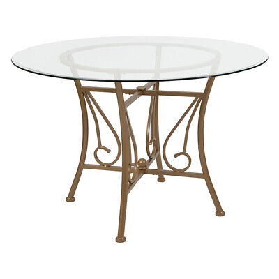 Flash Furniture Contemporary Dining Table XU-TBG-14-GG