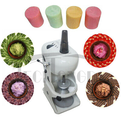 Electric Ice Crusher Shaver Machine Snow Cone Maker Shaved Ice Summer Kitchen