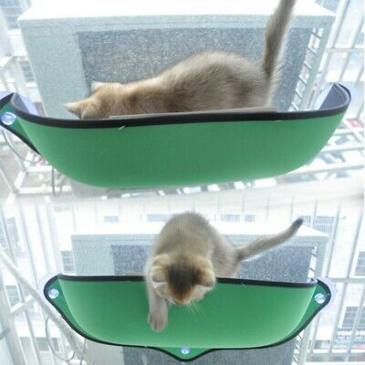 Cat Window Perch Seat Bed Padded Hammock Window Car Suction Cup Pet Supplies Padded Cat Window Perch