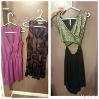 BCBG and other holiday dresses