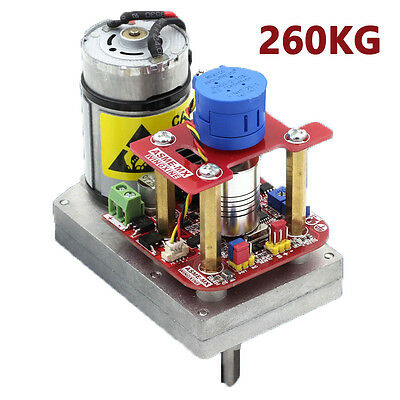 New 260kg.cm High Torque Servo 3600 Degree Servo 12v24v Robotmechanical Arm