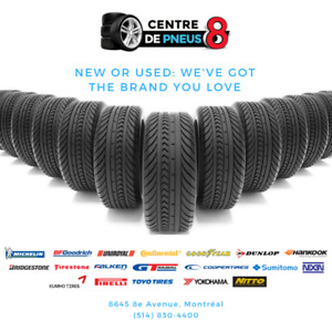 Do you need new tires? call us (514) 725-0000