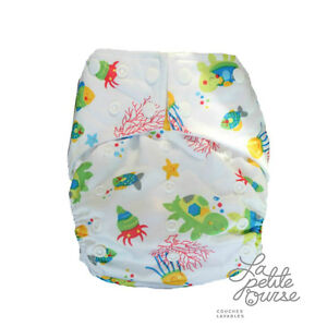 """Cloth Diaper """" La Petite Ourse"""" FREE delivery for order over 75$ West Island Greater Montréal image 2"""
