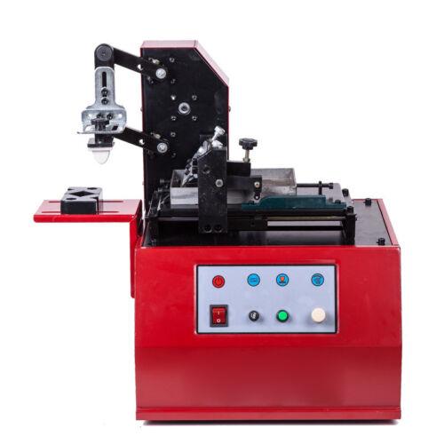 Electric Production Date Coding Machine 220V Scraper Ink Pad Printing Machine