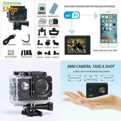 Best 4k WIFI Action Vlog Vlogging Camera Youtube Kit Bundle Setup Accessories