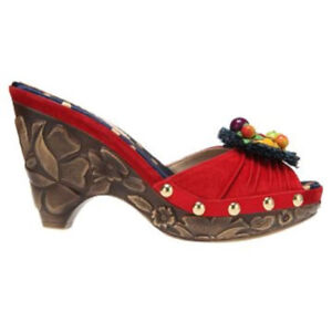Poetic Licence All The Pretty Birds Womens Wedge Heel Sandal