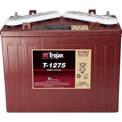 1x Batterie 12V Traktionsbatterie Block TROJAN T1275 150AH Stapler Hebebühne