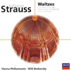 Johann Strauss-Waltzes/Blue Danube-Excellent condition cd +