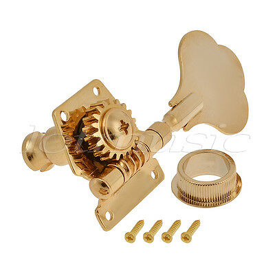 4 5 string bass guitar tuners tuning pegs keys machine heads open back gear gold. Black Bedroom Furniture Sets. Home Design Ideas