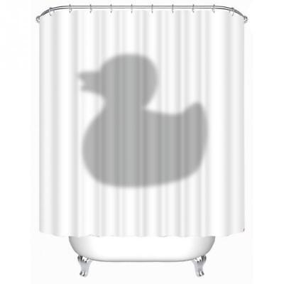 Cute Shower Curtain (New Novelty Cute Shadow of the Duck Shower Curtain Polyester 180cm x)
