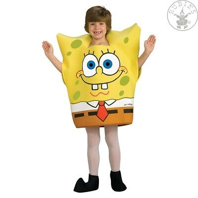 Spongebob Kinder Kostüme (RUB 3883176 Sponge Bob Lizenz Kinderkostüm Jungen Kostüm Karneval Fasching )
