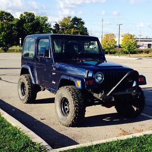 2002 Jeep TJ sport 11,000 obo