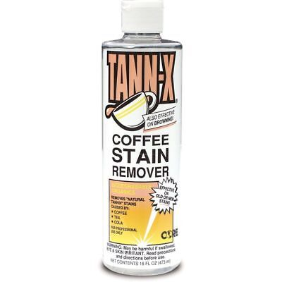 Core Products Tann-x Coffee Stain Remover 16 Oz Bottle 12 Per Case