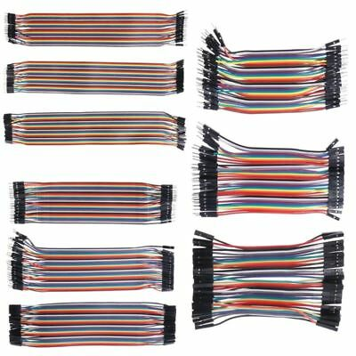 40 Pcs Dupont M-fm-mf-f Cables Jumper Breadboard Wire Gpio Ribbon Pi Arduino