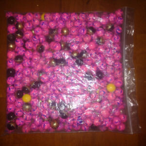 Paint balls from Bigfoot