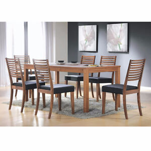 Hawthorne Walnut Wood Dining/Living Room Collection