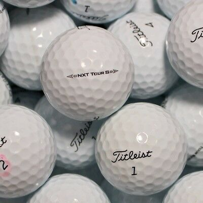 150 Golfbälle Titleist NXT Tour S Modell 2017 AAA/AAAA Lakeballs Bälle ()