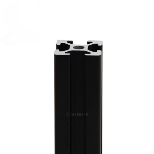4pcs 2020T-Slot Aluminum Profile Extrusion Frame Black 300mm Length F 3D Printer