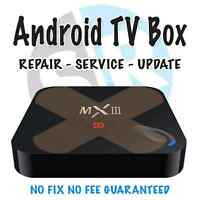 Fix or update your android box