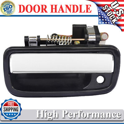 Chrome Exterior Outside Door Handle Driver Side Left LH for 95-04 Tacoma Truck