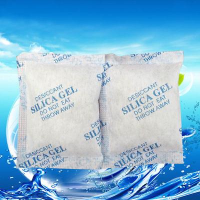 150packs Cotton Packets Of Silica Gel Desiccant Moisture Absorber Moistureproof