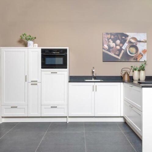 Witte Complete Hoekkeuken.Showroomuitverkoop Witte Hoekkeuken Incl Apparatuur Keuken