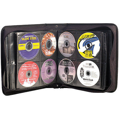 Xcase CD/DVD/BD-Tasche für 240 CD/DVD/BDs