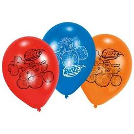 Blaze and the Monster Machines Latex Party Balloons