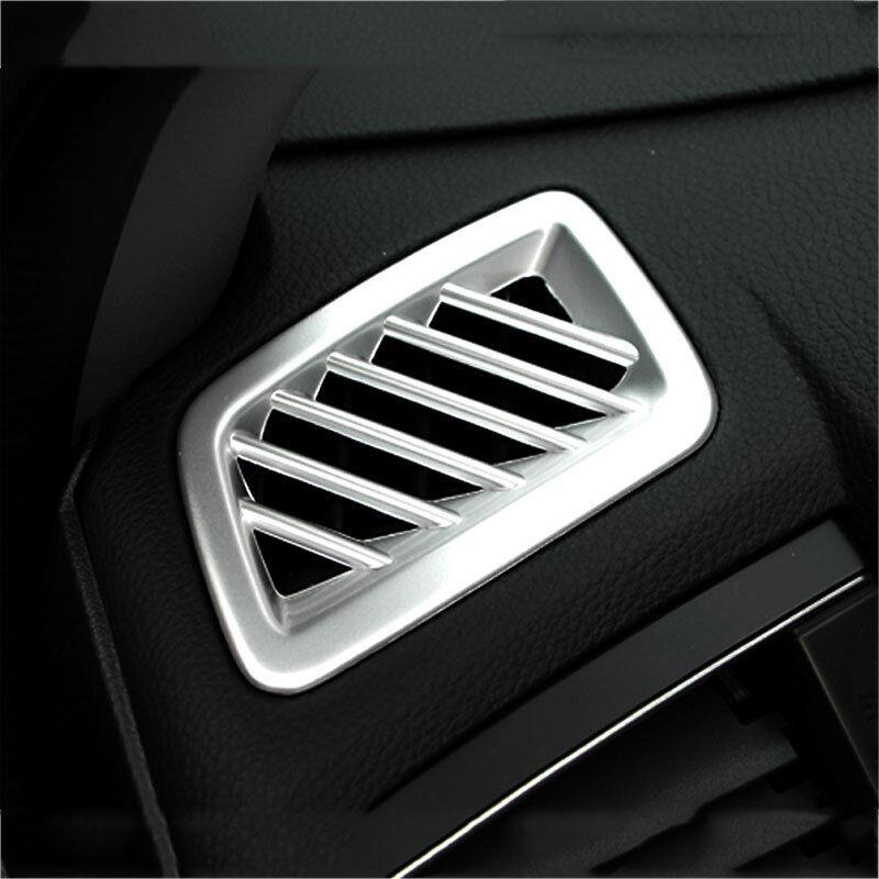 ABS Matt Car Interior Side Air Vent Outlet Cover Trim 2PCS for Honda Accord 2018