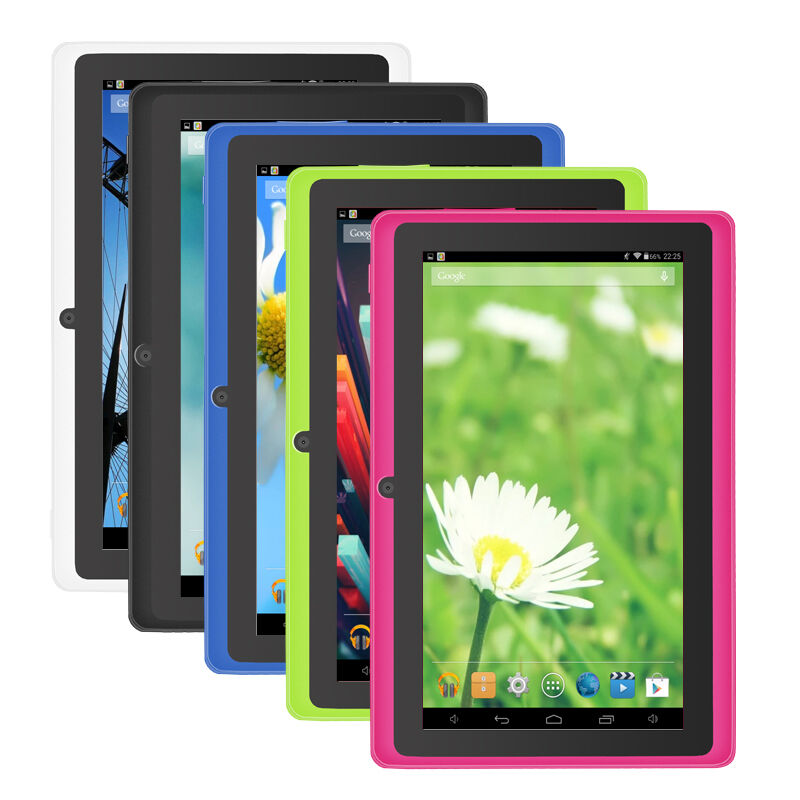Tablet - 7'' Tablet PC Google Android 4.4 PAD 1GB/8GB Quad Core Dual Cameras WIFI Lot