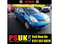 Nissan Note (2008) For Breaking BLUE